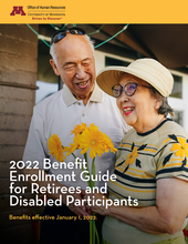 2022 Benefit Enrollment Guide, brochure cover