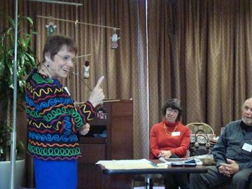 """Janice Nadeau """"Weathering our Losses"""" workshop March 25, 2014"""