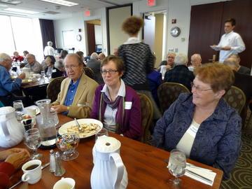 Members enjoy October 2012 luncheon