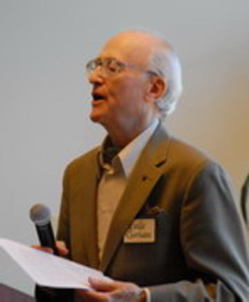 Regents Professor Emeritus Eville Gorham Introduces Clarence Lehman