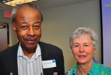 Russel Hamilton and Ginny Hanson