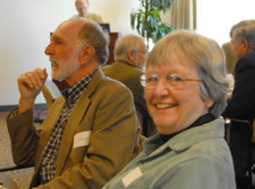 John Howe and Judy Howe who have been very active members of UMRA