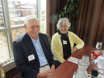 Ed & Janet Foster at the September 2014 luncheon
