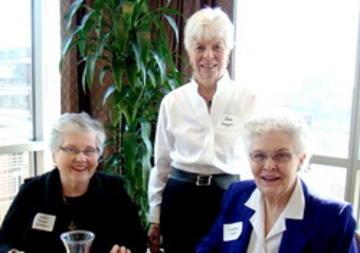 Jan Hogan-Schiltgen, Dee Meyer (guest) and Van Linck (left to right)