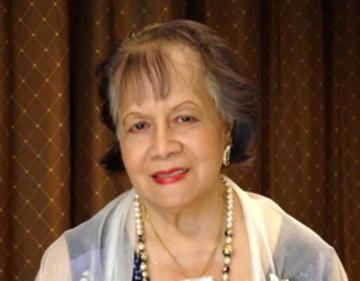 Khin Khin Jensen, loyal UMRA member and Past Pres., U of M Womens Club