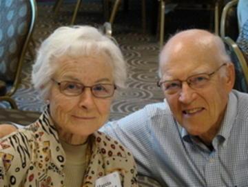 Burt and Marcia Sundquist,. loyal UMRA members and luncheon devotees