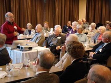 Speaker, Marvin Marshak, Nov, 2008
