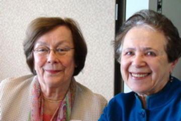 Anne Munholland and Betty Berman