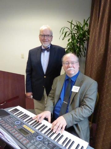 Musicians Vern Sutton and Lawrence Henry entertained the UMRA audience by presenting the rich history and music of American vaudeville and the Ziegfeld Follies. An appreciative audience enjoyed this musical performance and the stage banter of the 1920s
