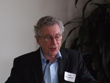 Paul Rosenblatt spoke about -- and to couples and communications at the end-of-year May Luncheon