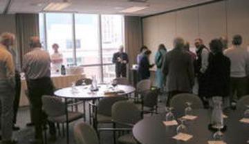 April 2006 Prospective Member Reception - Enjoying the Fellowship