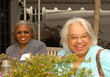 Rebecca Scott and Florence Keller, UMRA Members and Retiree Volunteers