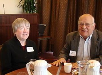 Speaker Robert Holt and Kathy O'Brien