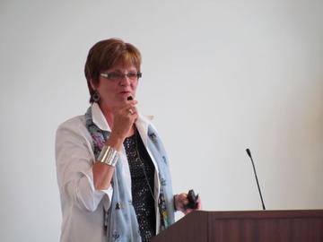 Susan Hagstrum shares her experiences