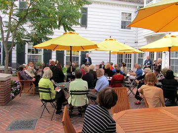 The Eastcliff reception for U of M retiree volunteers was a fine way to spend a beautiful afternoon on September 19, 2012